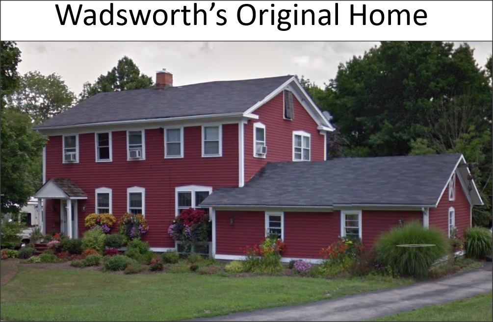 pic of Wadsworth's home in Canfield